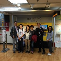 2015 Taipei City Traffic Information Center Visit